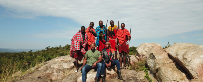 The best guides for safari are the Maasai!