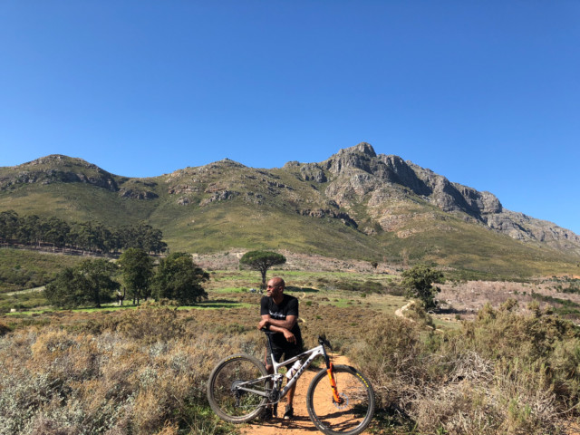 Stellenbosch has amazing track for mountain biking