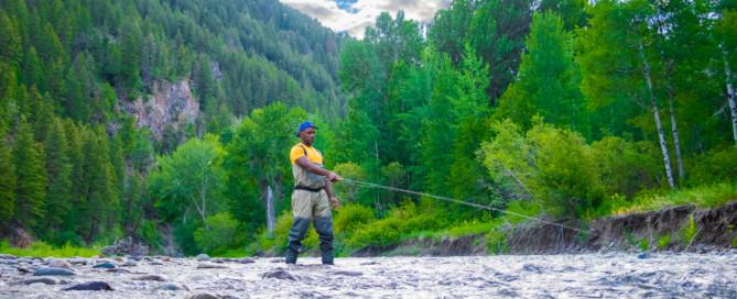 Fly Fishing in Sun Valley Idaho