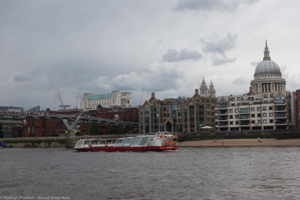 View from the Thames River