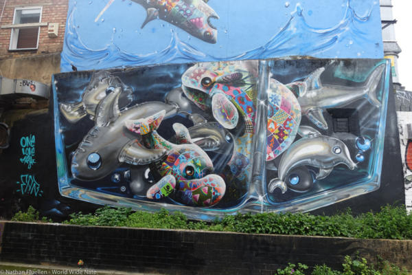 Mural hunting in Shoreditch