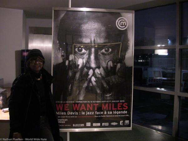 Miles Davis exhibit