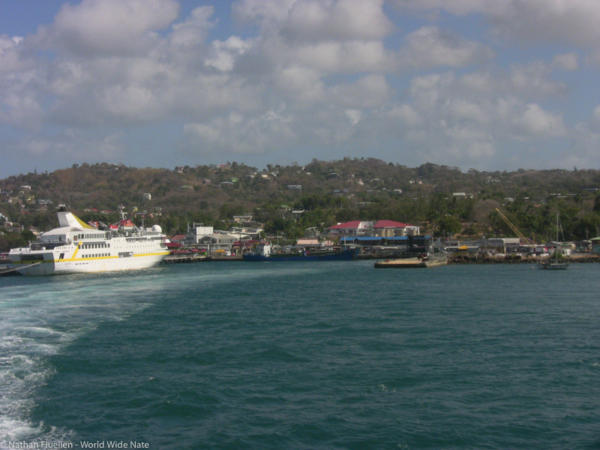 Leaving Trinidad headed to Tobago